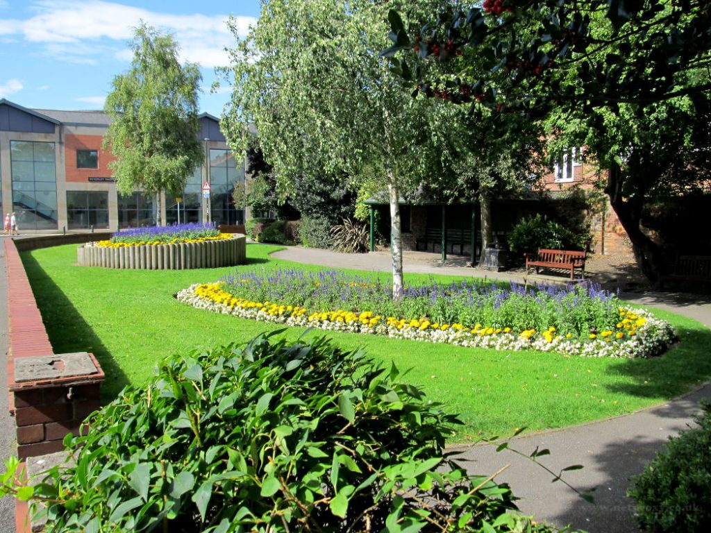 Delightful Small Public Garden on the corner of Lord Robert's Road in Beverley