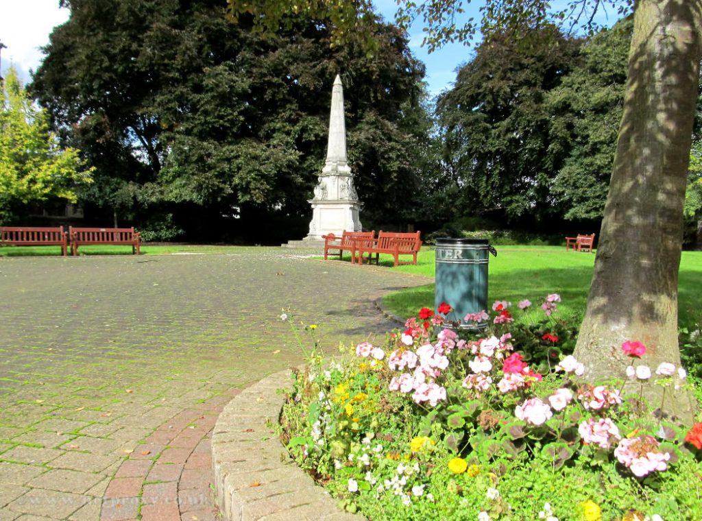 Memorial Garden, Hengate, Beverley, East Yorkshire.