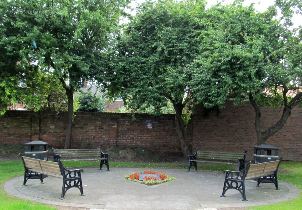 seating in Beverley's Diamond Jubilee Garden